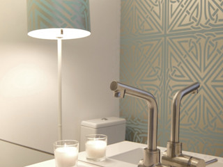 maria inês home style Mediterrane Badezimmer