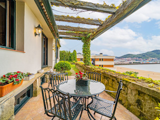 Bernadó Luxury Houses Balcon, Veranda & Terrasse rustiques