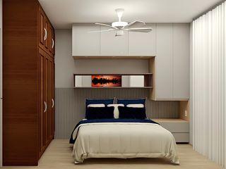 SCK Arquitetos Dormitorios de estilo tropical