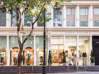 STORE NYC MM Interni Negozi & Locali commerciali in stile classico Legno Bianco