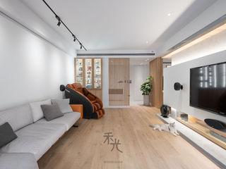 禾光室內裝修設計 ─ Her Guang Design Living room Wood effect