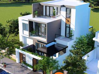 Mẫu thiết kế biệt thự phố đẹp 3 tầng hiện đại 8x14m tại Tiền Giang NEOHouse