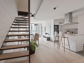 custom casa home staging Dapur Modern