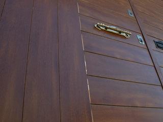 Lamitec SA de CV Windows & doors Doors Metal Wood effect