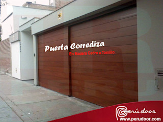 Puertas Automaticas - PERU DOOR Gym Komposit Kayu-Plastik Brown
