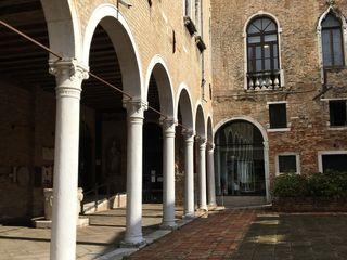 Giardino a Murano del Museo del Vetro Anita Cerpelloni Paper Project Venice Giardino anteriore