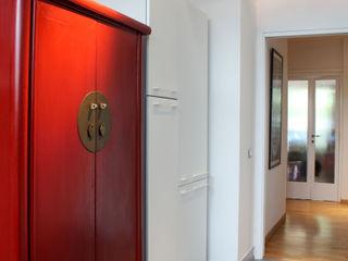 OPA Architetti 和風の キッチン 赤色