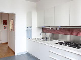 OPA Architetti システムキッチン 白色