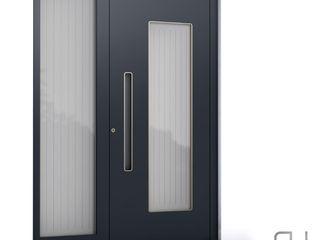 RK Exclusive Doors Парадні двері Алюміній / цинк Чорний
