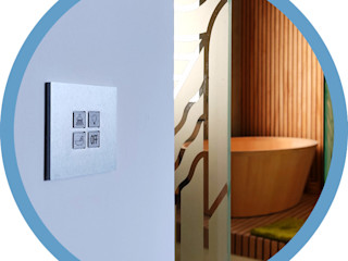 Indomotiq, Inmótica y Domótica (Madrid y zona centro) 現代浴室設計點子、靈感&圖片