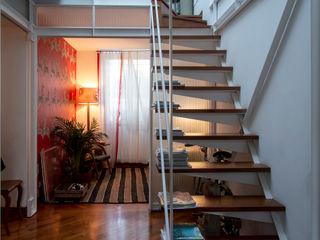 OPA Architetti 階段 木 白色