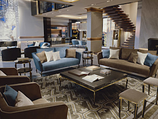 Living Room Jewel - Brummel BRUMMEL Livings modernos: Ideas, imágenes y decoración Mármol Negro