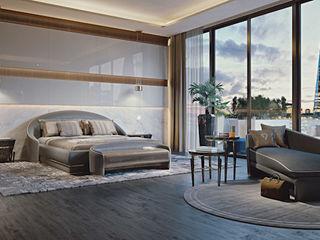 Jewel Night Zone - Brummel BRUMMEL Dormitorios modernos: Ideas, imágenes y decoración Madera Blanco