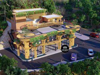 Thiết kế trạm dừng chân 13x20m hiện đại đẹp tại Lâm Đồng NEOHouse