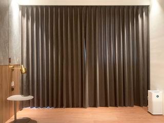 朝氣滿分的居家工作室|布紗簾・百葉簾 MSBT 幔室布緹 臥室 木頭 Brown