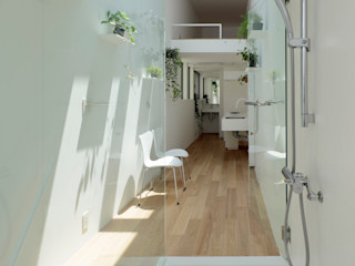 another APARTMENT LTD. / アナザーアパートメント Baños de estilo moderno