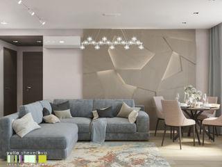 Мастерская интерьера Юлии Шевелевой Living room