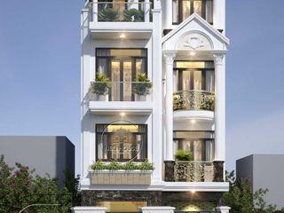 Thiết kế nhà phố tân cổ điển đẹp 4 tầng sang trọng tại HCM NEOHouse
