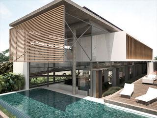 Costa Rica RRA Arquitectura Piscinas infinitas Madera Blanco
