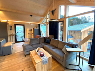 Skapetze Lichtmacher Country style living room