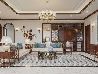 Mẫu nội thất phong cách Indochine đẹp sang trọng 2021 NEOHouse