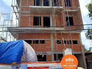Thi công trọn gói biệt thự 4 tầng hiện đại đẹp 9x4m tại HCM NEOHouse