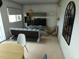 JR Interior Design Livings modernos: Ideas, imágenes y decoración