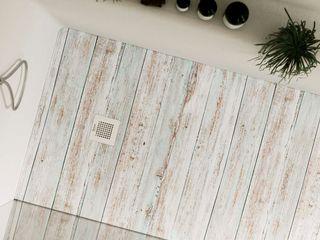 Rustik, desconecta del bullicio urbano en este moderno baño Bosnor, S.L. BañosBañeras y duchas