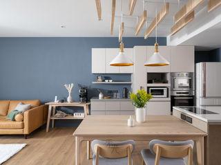 禾光室內裝修設計 ─ Her Guang Design Scandinavian style dining room Grey