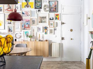 Interiorismo y decoración en Madrid / Kando Estudio 餐廳 Multicolored