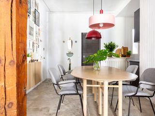 Interiorismo y decoración en Madrid / Kando Estudio 餐廳 金屬 Pink