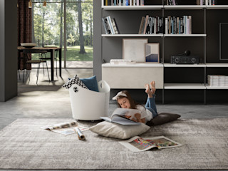Limac Design Living roomStorage Leather White