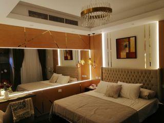 كاسل للإستشارات الهندسية وأعمال الديكور والتشطيبات العامة ห้องนอนขนาดเล็ก ไม้ Brown