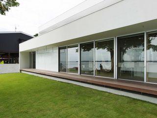 空間建築-傳 Casa di campagna Legno Bianco