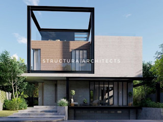 Structura Architects Casas unifamilares Piedra Gris