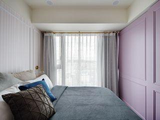 微自然室內裝修設計有限公司 Спальня