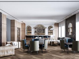 Tongzhou Villa VERO CONCEPT MİMARLIK Modern Oturma Odası