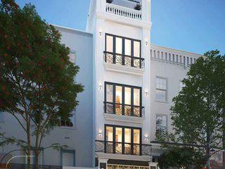 Thi công xây dựng nhà phố tân cổ điển 4 tầng đẹp tại HCM NEOHouse
