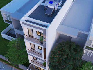 Thiết kế xây dựng nhà phố hiện đại 4 tầng đẹp 80m2 tại Quận Tân Phú Hồ Chí Minh NEOHouse