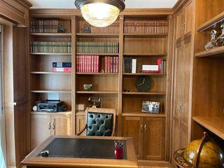 Falegnameria su misura Studeerkamer/kantoorKasten & planken Hout