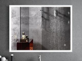 ESPELHO ILUMINAÇÃO LED BERNA Fator Banho Casa de banhoEspelhos Vidro