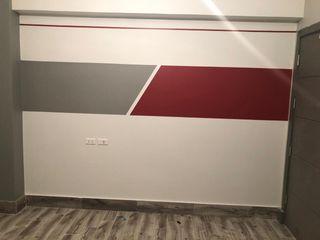 كاسل للإستشارات الهندسية وأعمال الديكور والتشطيبات العامة ห้องนั่งเล่นของตกแต่งและอุปกรณ์จิปาถะ อิฐหรือดินเผา Red