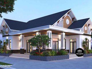 Thiết kế và thi công biệt thự vườn 1 tầng mái thái tại Huế NEOHouse