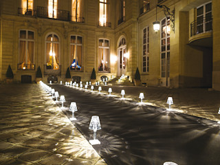 Les lampes nomades : des luminaires outdoor sans fil Création Contemporaine JardinAccessoires & décorations