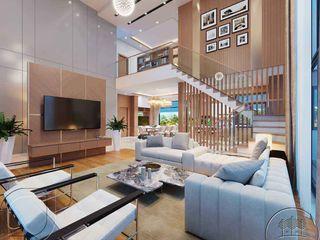 Thiết kế nội thất biệt thự cao cấp 2 tầng đẹp tại Lào NEOHouse
