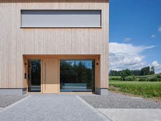 Karl Moll GmbH Maisons modernes Bois