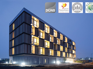 Passive House Bruck Peter Ruge Architekten GmbH Modern hotels
