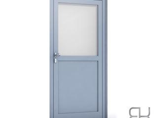 RK Exclusive Doors Парадні двері Алюміній / цинк Металевий / срібло