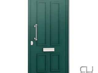 RK Exclusive Doors Парадні двері Алюміній / цинк Зелений