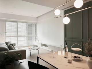寓子設計 Phòng ăn phong cách kinh điển